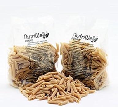Pasta de proteína - PENNE - 30% de proteína - Muy alto contenido de fibra - 250 gr