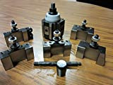 6-12'' QUICK CHANGE TOOL POST-6PCS/SET-Piston TYPE #830A-532--new