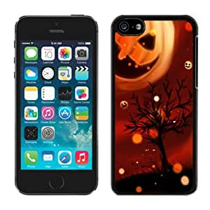 2014 Latest Iphone 5C TPU Rubber Protective Skin Cool Pumpkin Iphone 5C TPU Rubber Protective Skin Halloween Black iPhone 5C Case 1