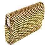 Tsubota Pearl Bling Sliding Card Case, Gold