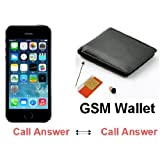 Bluetooth Earpiece GSM WALLET Spy Hidden Wireless Invisible Mini Box Cheat SIM