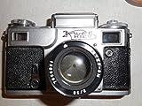KIEV-3 Soviet Contax copy camera 35mm Arsenal Manual #524496 lens Jupiter-8