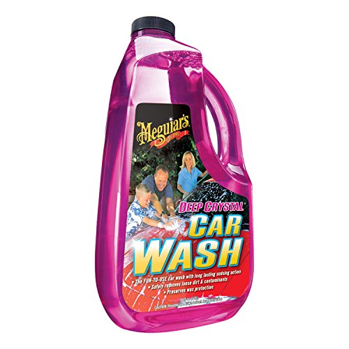 Meguiar's G10464 Deep Crystal Car Wash - 64 oz.