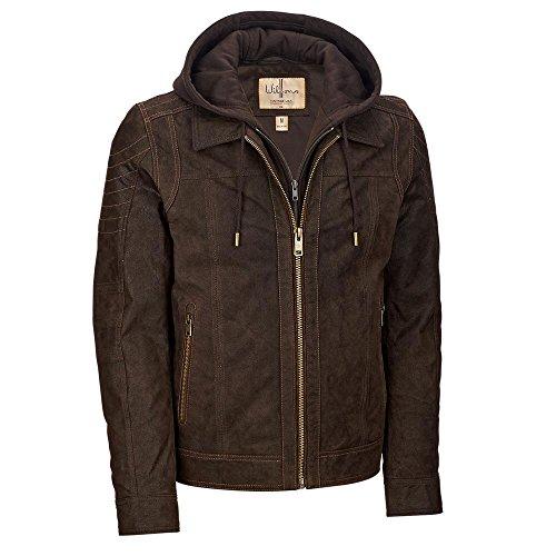 Leather Vintage Coat - 4