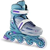 Best Girls Inline Skates - Girl's Adjustable Inline Skate by Crazy Skates | Review