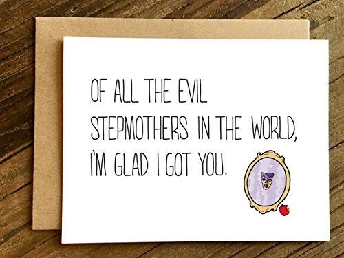 - Stepmom Mother's Day/Stepmom Birthday Card