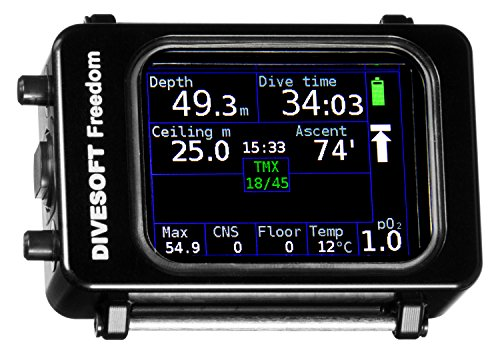Freedom CCR Bottom Timer by Divesoft