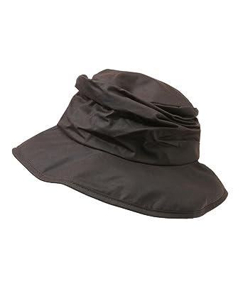 2c705783b Women's Barbour Waxed Sports Hat - Rustic: Amazon.co.uk: Clothing