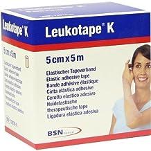 Leukotape K Kinesiology Tape (Tan, 5cm x 4.5m) by BSN Medical