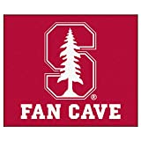 """Fan Mats Stanford Man Cave Tailgater Rug 60""""X72"""""""