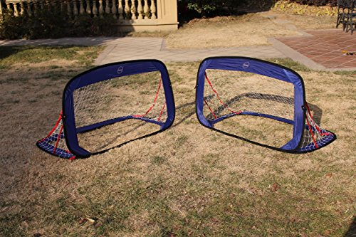 Galileo Goal for Soccer Training Portable Competition Target Goals Net with Carry Bag Sized (Soccer Net Bag)