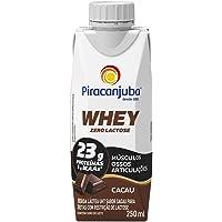 Whey Zero Lactose Sabor Cacau Piracanjuba 250ml