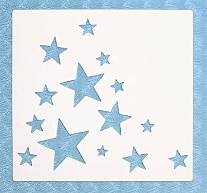 Stencil by The Bodhi Tribe- Star Cluster Yoga Stencil For DIY Painting Projects