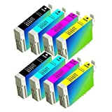 8 Pack Epson Ink Cartridges for Eps