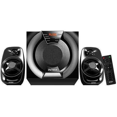 Intex IT 2480 FMU BT 2.1 Channel Multimedia Bluetooth Speakers  Black