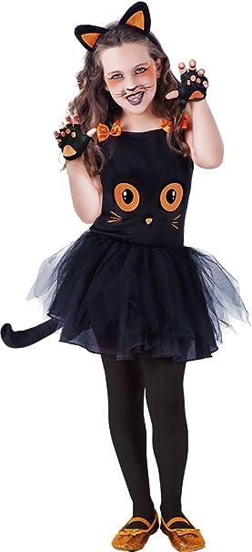 Rubies- Disfraz infantil de gatita Tutuween, Color negro, M (5-7 ...