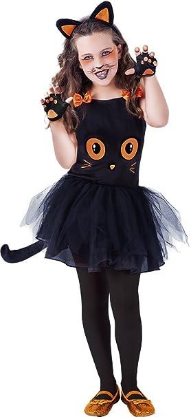 ea33d17bf Rubie's - Disfraz infantil de gatita Tutuween para niña, color negro, S  (S8410-S)