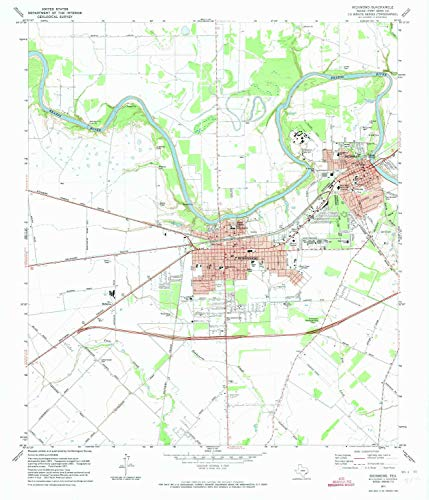 YellowMaps Richmond TX topo map, 1:24000 Scale, 7.5 X 7.5 Minute, Historical, 1971, Updated 1973, 27.1 x 23.3 in - Tyvek