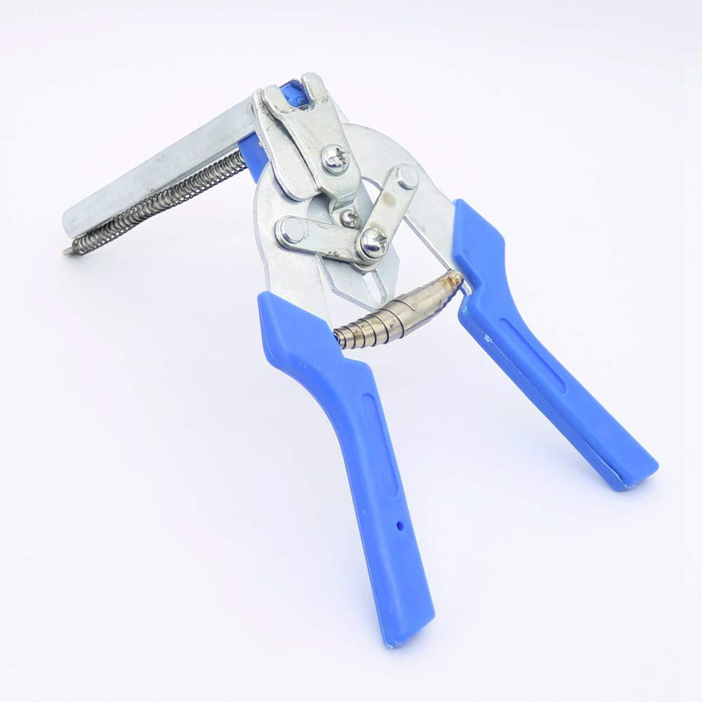 Alicates de anillo de 1 unid con herramientas de esgrima de alambre de jaula de malla de grapas M-Clip de 600 pcs