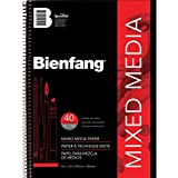 Speedball Art Products Bienfang Mixed Media Paper Pad, 9-Inch by 12-Inch, 40 Sheets