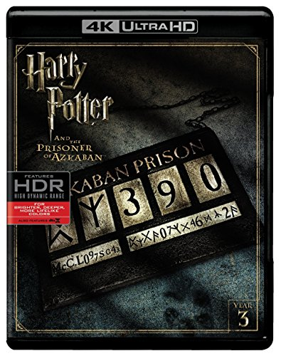 Harry Potter and the Prisoner of Azkaban (Ultra HD/BD) [Blu-ray] (Harry Potter Collection 8pk 4k Ultra Hd Digital)