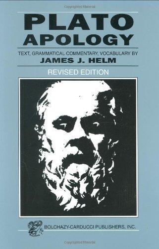 Plato: Apology (Greek Edition) (Greek and English Edition)