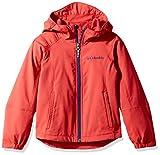 Columbia Big Boy's Splashflash Ii Hooded Softshell Jacket, Cyber Green, M