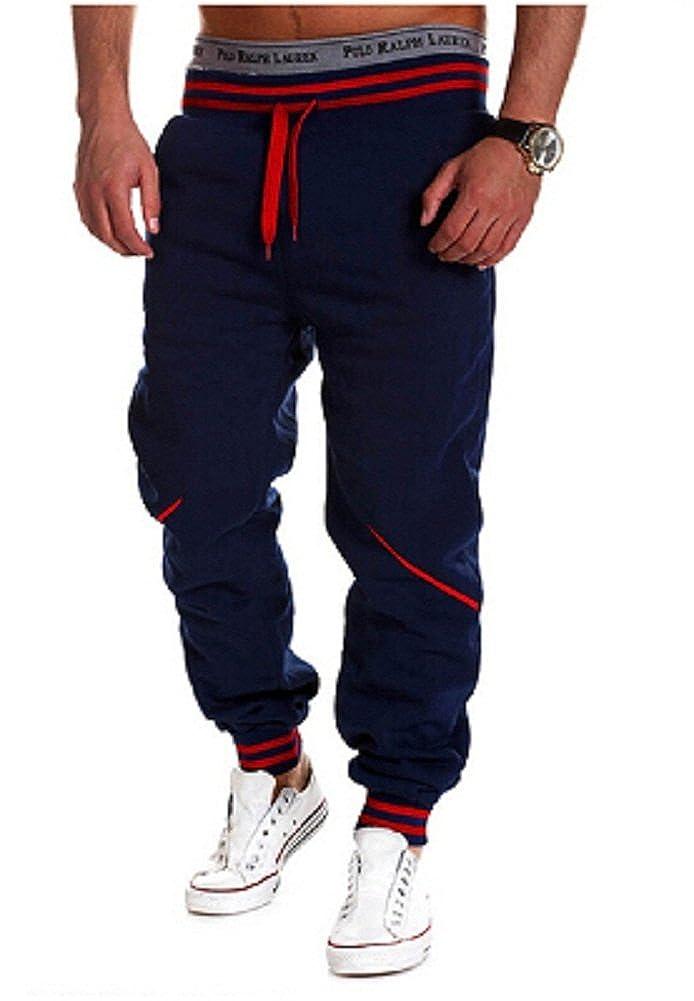 BOMOVO - Chándal para Hombre, Pantalones De Chandal Multicolor ...