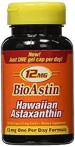 Nutrex Hawaii: BioAstin Hawaiian Astaxanthin 12 mg, 50 caps (2 pack)
