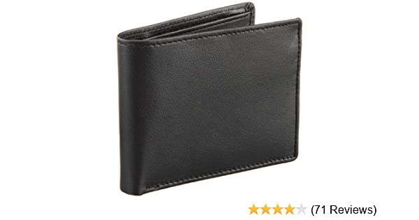 Perry Ellis Mens Gramercy Slimfold Wallet, Black, One Size at Amazon Mens Clothing store: