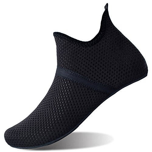 Shoes for Yoga Aqua Dry Water Barerun Beach Barefoot Mid Pool Socks Swim Quick for Women Sports Men Surf Black qOfX8O
