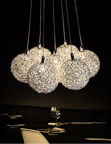 SSBY LED Pendant Light Modern 7-Light Home Furnishing Decorative Aluminum Pendant Light , Dining Room, Bedroom, Living Room , (Home Furnishing Ceiling Lamp)