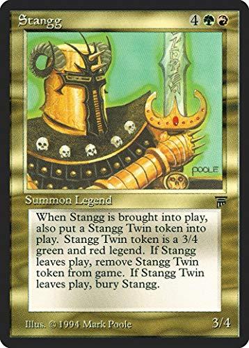 マジックザギャザリング MTG 金(多色) 英語版 スタング/Stangg LEG-260 レア
