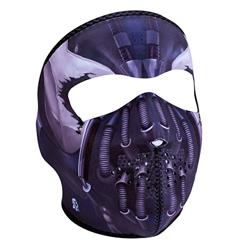 Zan Headgear Full Mask, Neoprene, Pain