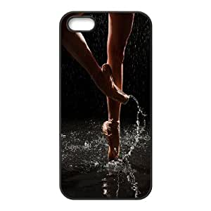 UNI-BEE PHONE CASE For Apple Iphone 5 5S Cases -Elegent Dancer,Ballet Dancing-CASE-STYLE 1