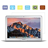 New MacBook Air 13 Inch Screen Protector Glass, KTtwo 9H Tempered Glass Anti-Scratch Screen Protector for Apple MacBook Air 13.3-Inch Laptop Fit all 2015/2017 Versions