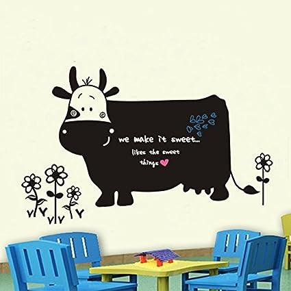 Sticker Mural Environnement Grande Vache Dessin Animé