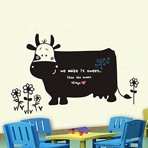 mrs-shop-cartoon-dairy-cow-blackboard-stickers-diy-removable-wall-stickers-kids-room-nursery-home-de