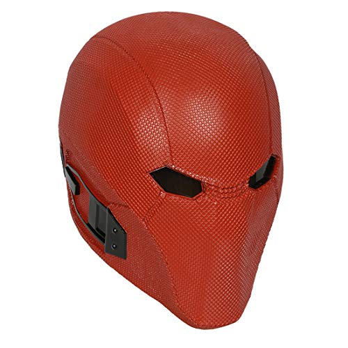 xcoser Red Hood Mask Helmet Cosplay Costume accessories For Halloween -