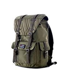 Olympia Hopkins 18-Inch Backpack OV, Olive, One Size