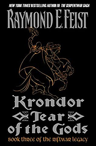book cover of Tear of the gods