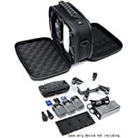 All in one DJI Spark Case by WGear with different functional comparts for Spark, RC, Batteries, Propellers, HD Cards, Charger and adapter
