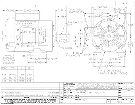 Marathon Electric 3 Phase Motor Wiring Diagram