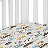 Sweet Potato Traffic Jam Fitted Sheet, Cars