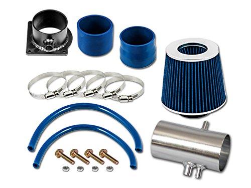 R&L Racing Blue Short Ram Air Intake Kit + Filter 98-02 Mercury Mystique 2.5L V6