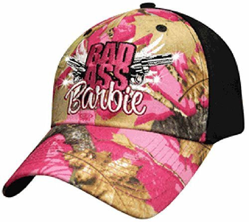 Bad Ass Barbie Pink Camo Cap -