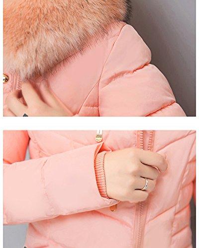 Coat Down Parka Pink Quilted Light Cihui Women's Packable Jacket Winter Puffer Weight Ultra wWXqgA