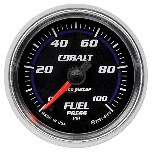 - Autometer Cobalt 52mm 100 PSI Electronic Fuel Pressure Gauge (am6163)