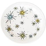 Atomic Starburst Boomerang Salad Plate