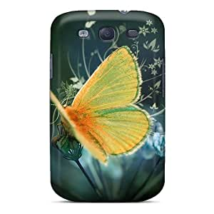 Protective Hard Phone Covers For Samsung Galaxy S3 (ijS3477erZh) Allow Personal Design Trendy Butterfly Pictures